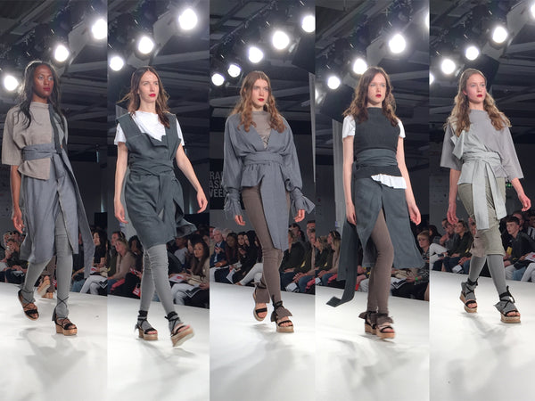 University of East London UEL Graduate Fashion Week Ashlee Severin - Erebus