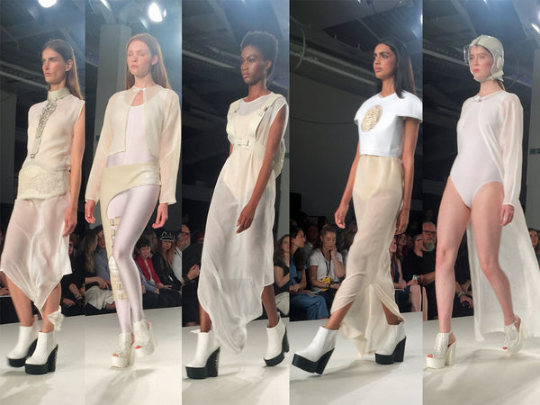 Ravensbourne University Graduate Fashion Week Farah Kone - Erebus