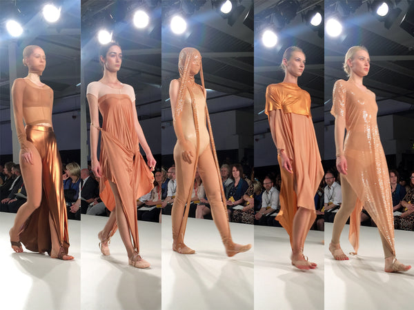 University of Creative Arts UCA Epsom Graduate Fashion Week Kayleigh Lawrence - Erebus