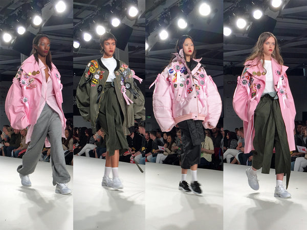 University of East London UEL Graduate Fashion Week Faith Balogun - Erebus