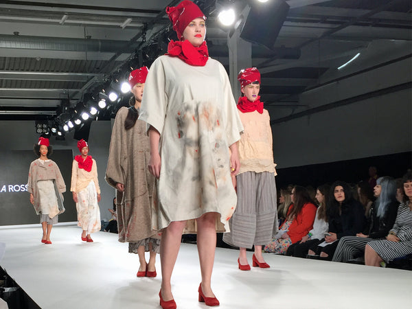 Arts University Bournemouth AUB Graduate Fashion Week Jeka Ross - Erebus