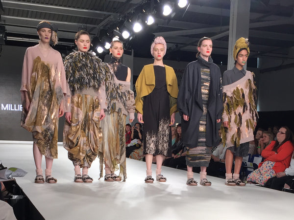 Arts University Bournemouth AUB Graduate Fashion Week Millie Turner - Erebus