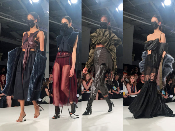 Ravensbourne University Graduate Fashion Week Sophia Rashid - Erebus