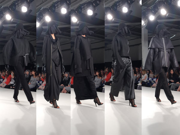 Arts University Bournemouth AUB Graduate Fashion Week Michelle Obuya - Erebus