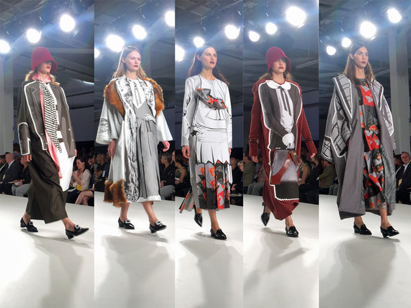 University of Creative Arts UCA Epsom Graduate Fashion Week Qiwei Jiang - Erebus