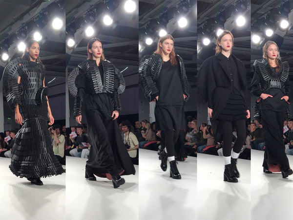 University of East London UEL Graduate Fashion Week Samuel Kaiser - Erebus