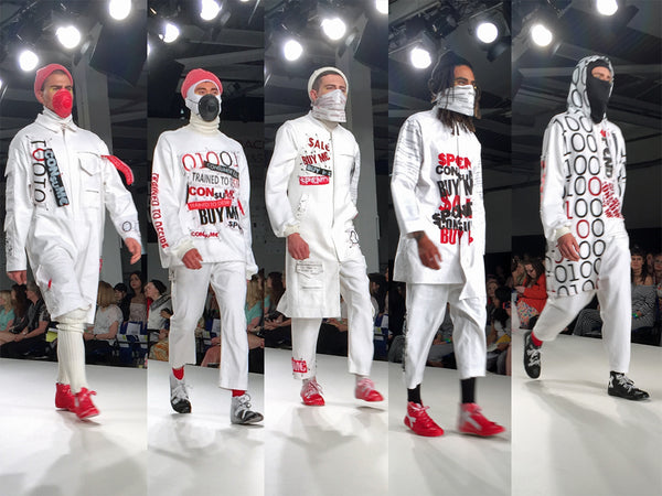 Arts University Bournemouth AUB Graduate Fashion Week Luke Wharton - Erebus