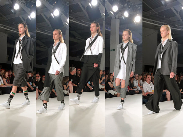 Ravensbourne University Graduate Fashion Week Sibel Atig - Erebus