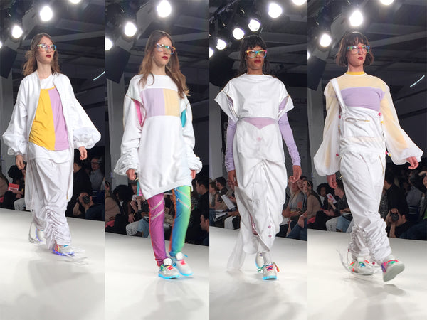 University of East London UEL Graduate Fashion Week Tinotenda Chafesuka - Erebus