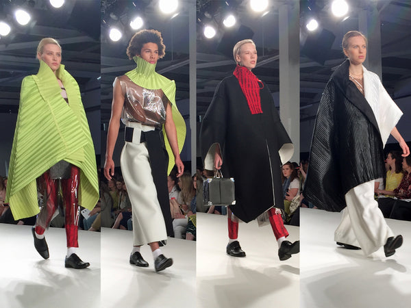 Bath Spa University Graduate Fashion Week Magdalena Czarniecka - Erebus