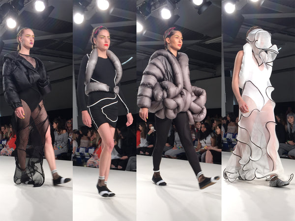 Arts University Bournemouth AUB Graduate Fashion Week Bea Jackson - Erebus