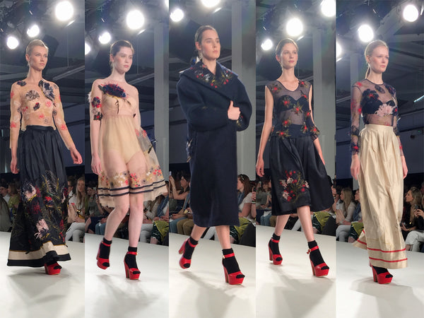 Bath Spa University Graduate Fashion Week Ella Mash - Erebus