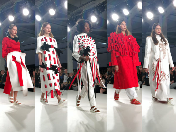 University of Creative Arts UCA Epsom Graduate Fashion Week Lisa Crook - Erebus
