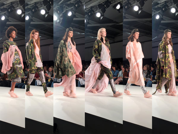Graduate Fashion Week 2016 Edinburgh College of Art Lyndsay Welch - Erebus
