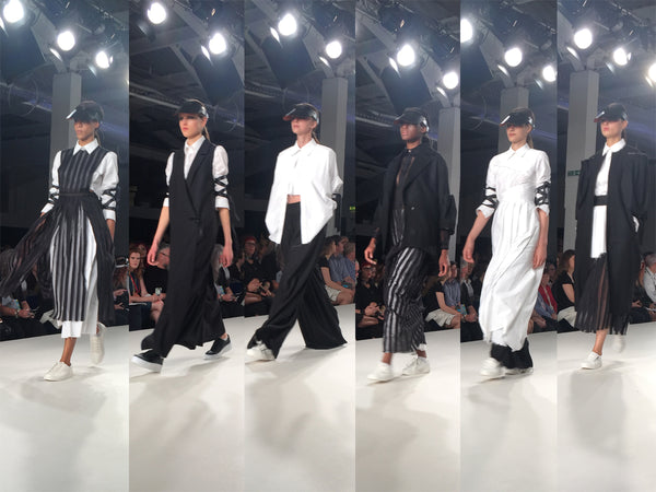 Ravensbourne University Graduate Fashion Week Claudia Loaiza - Erebus