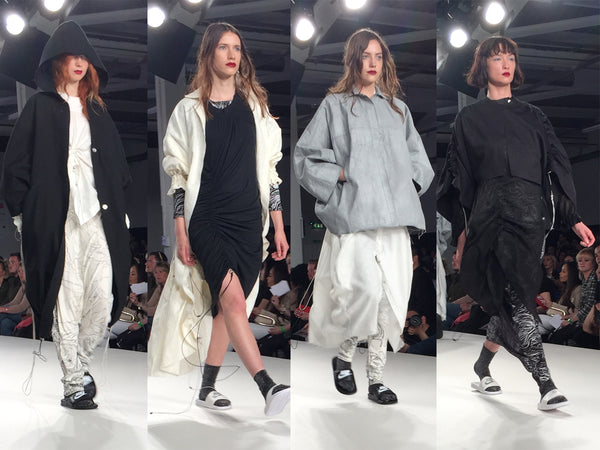 University of East London UEL Graduate Fashion Week Constance Burke - Erebus