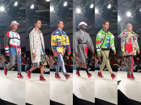 Graduate Fashion Week 2016 Edinburgh College of Art Jonathan Preston-Moore - Erebus
