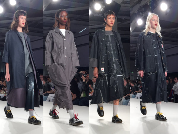University of East London UEL Graduate Fashion Week Kayleigh Dozzell - Erebus