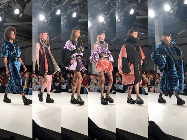 Graduate Fashion Week 2016 Edinburgh College of Art Anna Madelena Currie - Erebus