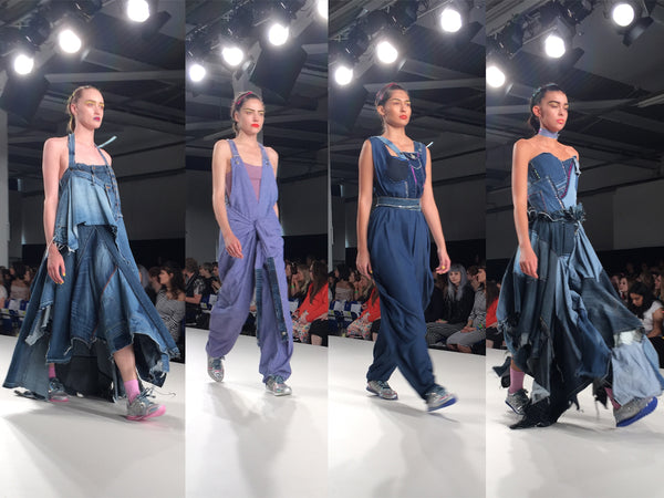Arts University Bournemouth AUB Graduate Fashion Week Caitlin Martin - Erebus