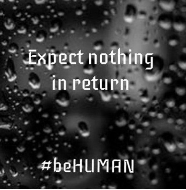 Introduction of #beHUMAN by Saša Maksimiljanović and Šime Eškinje which invites us to become aware and try to become better people at Erebus