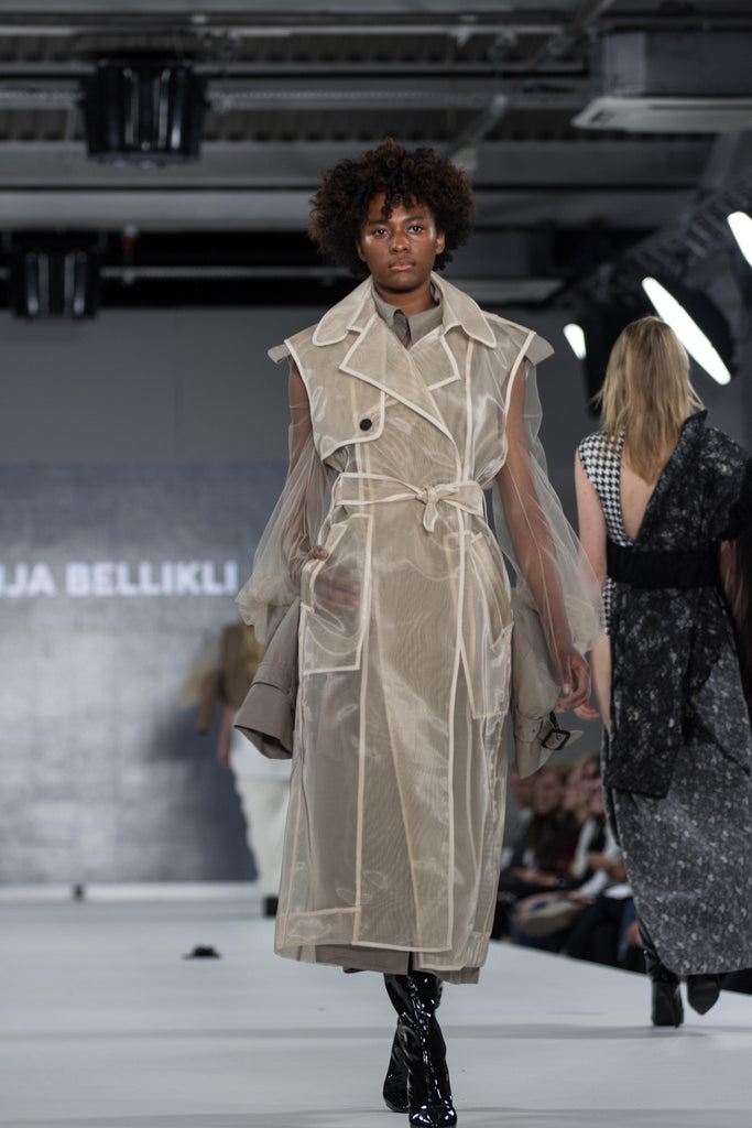 Graduate Fashion Week 2017: Ravensbourne Gonja Bellikli Photo by Claire Mcintyre - Erebus