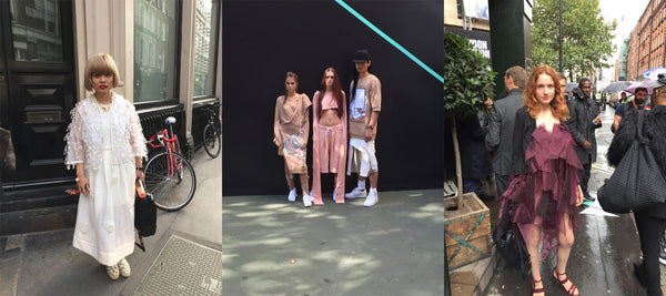 Street Style: London Fashion Week SS16 soft and feminine