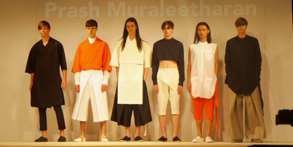 Graduate Fashion Week Brighton Prash Muraleetharan