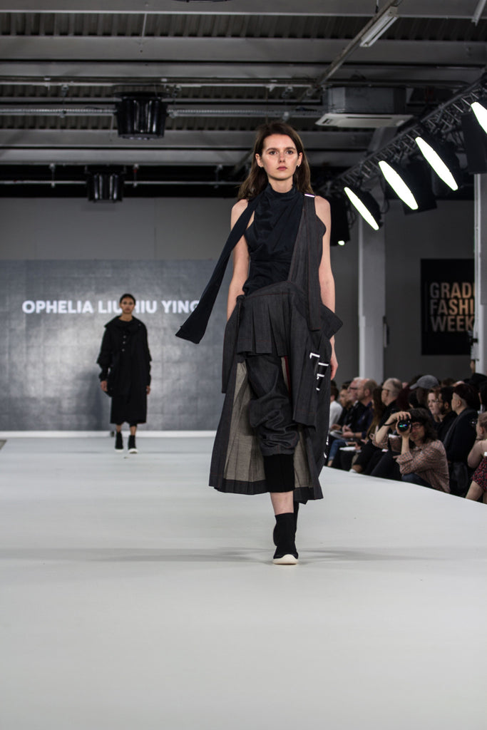 Graduate Fashion Week 2017: Ravensbourne Ophelia Liu Hiu Ying Photo by Claire Mcintyre - Erebus