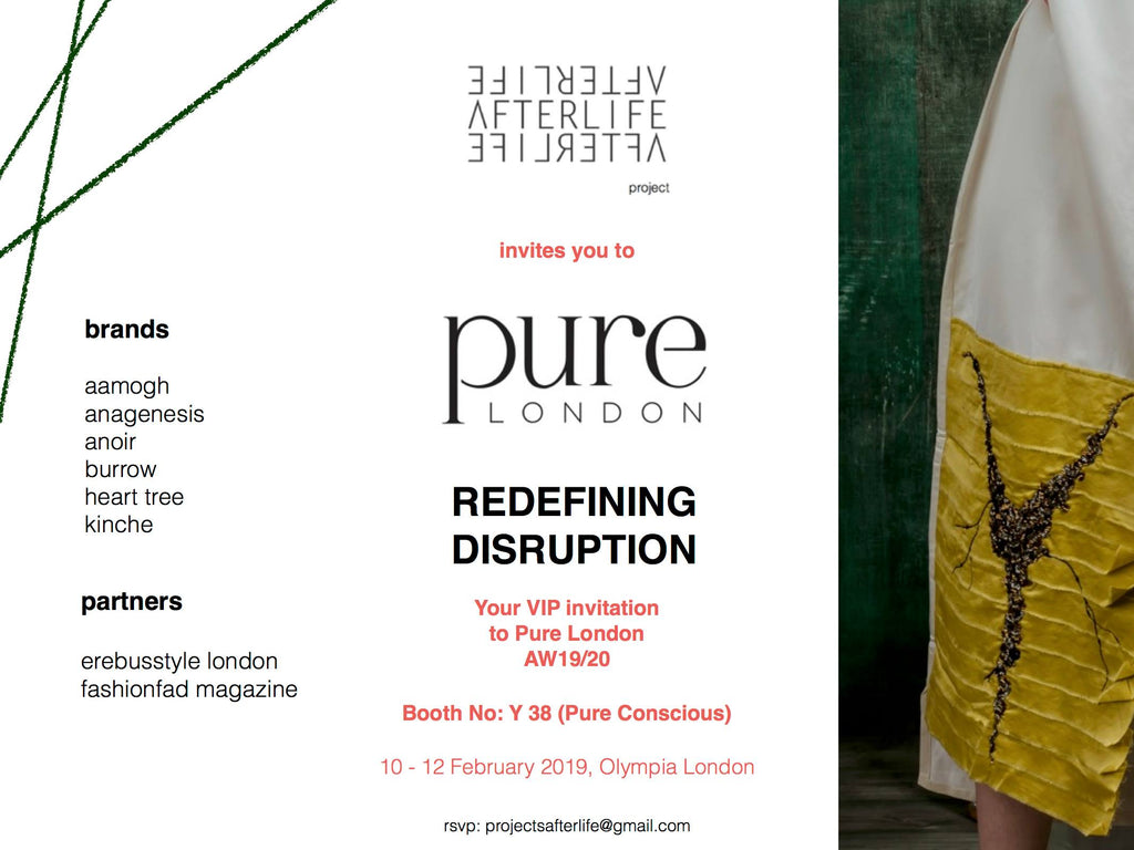 Afterlife Projects at Pure London February 2019