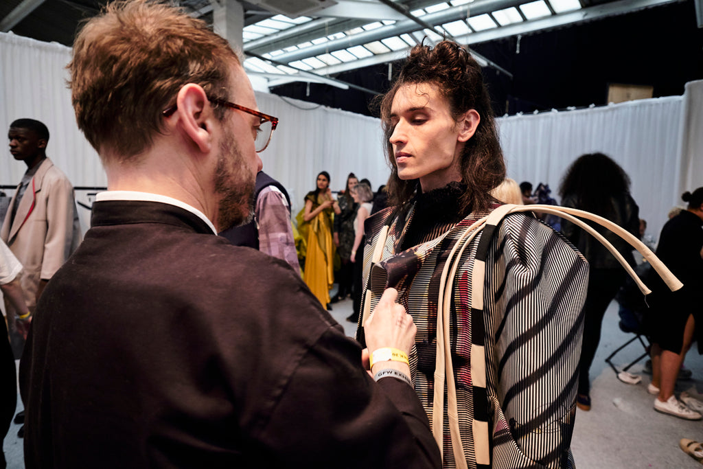 Graduate Fashion Week 2018: Ravensbourne Backstage - Erebus