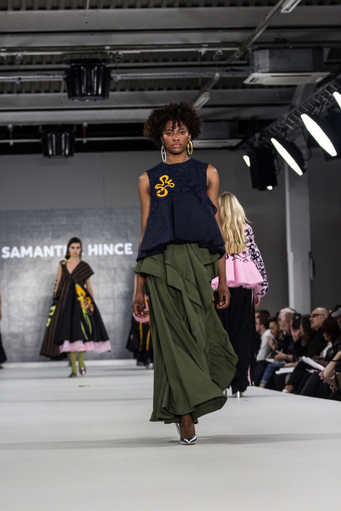 Graduate Fashion Week 2017: Ravensbourne Samantha Hince Photo by Claire Mcintyre - Erebus