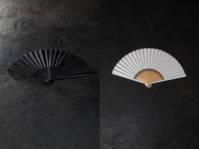 T.A.S Japan Spring Summer 2017 leather fans - Erebus