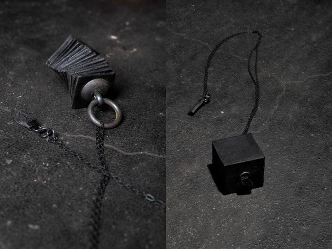 T.A.S Japan Spring Summer 2017 leather necklaces - Erebus