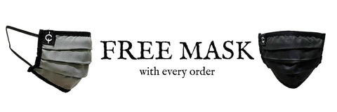 Free Mask with any Mark Baigent Order at Erebus