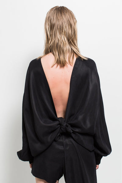 Shop Emerging Contemporary Womenswear brand Too Damn Expensive Reversible Shirt Jacket at Erebus