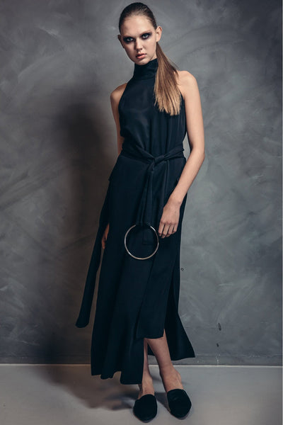 Shop Emerging Contemporary Womenswear brand Too Damn Expensive Sleeveless Dress at Erebus