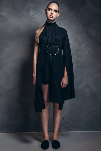 Shop Emerging Contemporary Womenswear brand Too Damn Expensive Asymmetric Top at Erebus