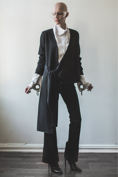 Shop Emerging Contemporary Womenswear brand Too Damn Expensive Suit Jacket at Erebus