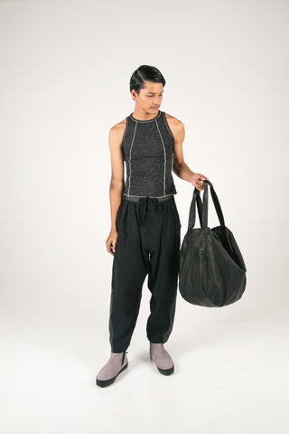 Shop Fair Fashion Genderless Avant-garde Basics Brand PULSE by Mark Baigent Collection Tendon Vest Top at Erebus