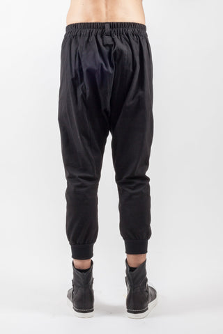 Shop Emerging Genderless Brand XCONCEPT Black Tracker Cargo Pants at Erebus