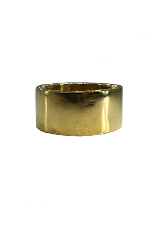 Shop Emerging Avant-garde Jewellery Brand Relics by Geo Bronze Aten Medium Ring at Erebus