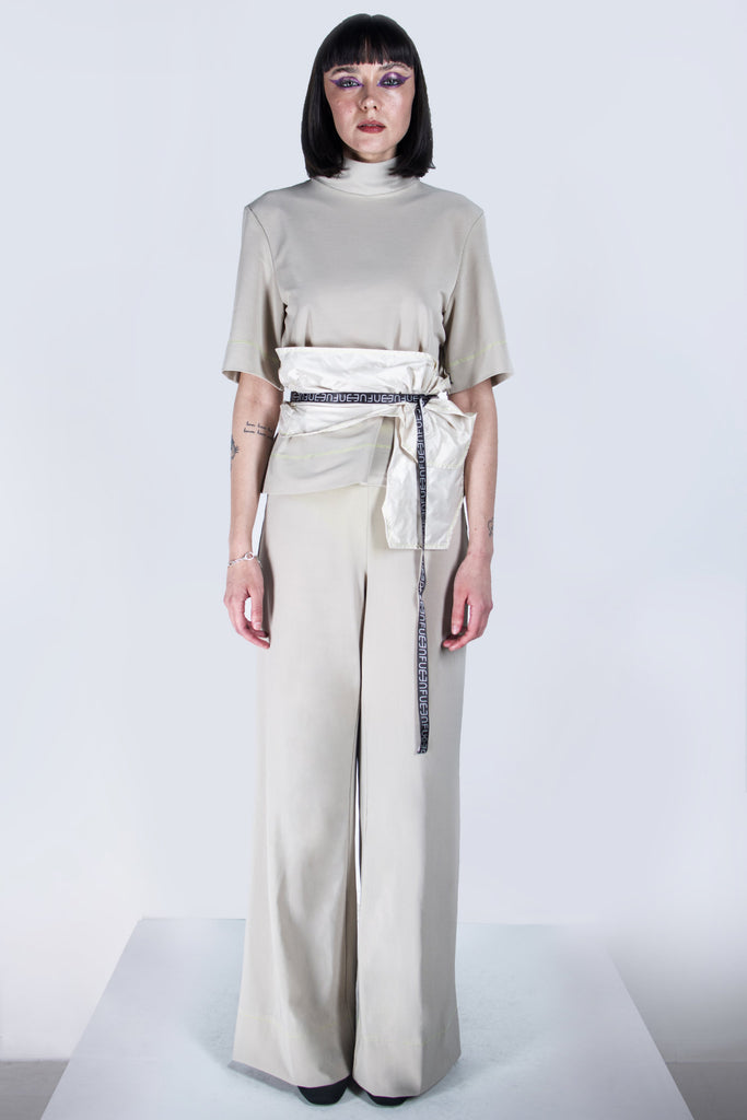 Shop emerging futuristic genderless designer Fuenf Metaphysics AW20 Collection Transform Belt at Erebus