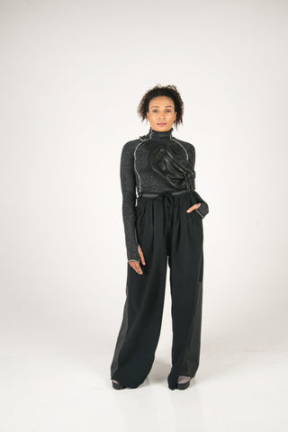 Shop Fair Fashion Genderless Avant-garde Basics Brand PULSE by Mark Baigent Collection Areola Long Sleeve Top at Erebus