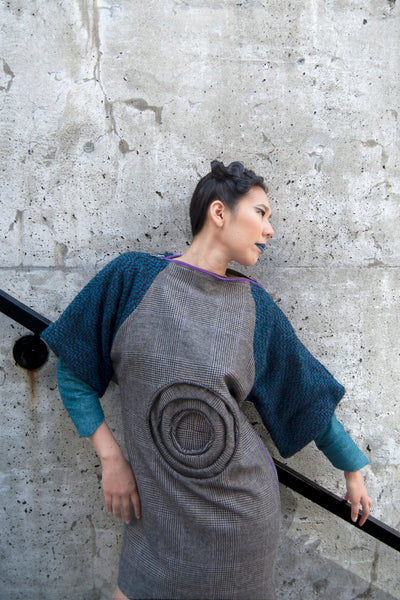 Shop Emerging Conscious Avant-garde Gender-free Brand Supramorphous Zero Dress at Erebus