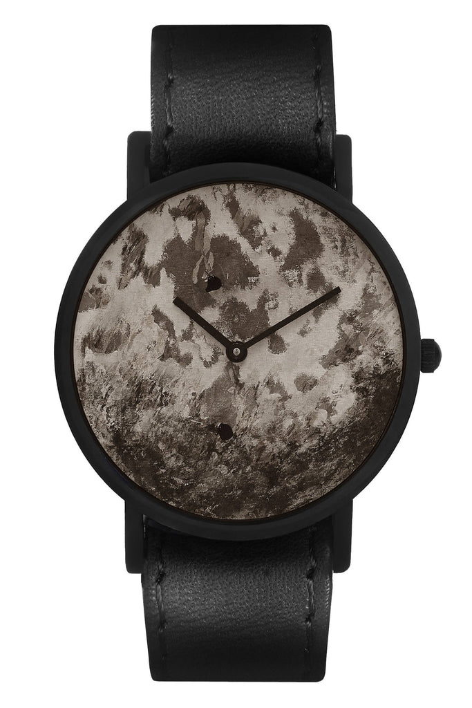 Shop emerging avant-garde accessory brand South Lane Avant Distinguished Black Watch at Erebus