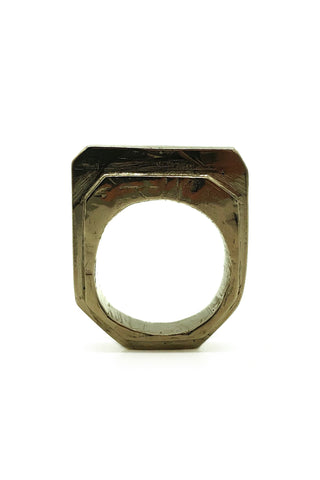 Shop Emerging Avant-garde Jewellery Brand Relics by Geo Bronze Amenty Key Ring at Erebus