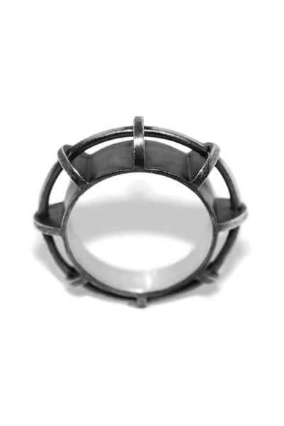 Shop Emerging Slow Fashion Avant-garde Jewelllery Designer David Gaboriau Arche Ring at Erebus