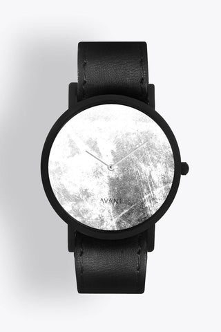 Shop emerging avant-garde accessory brand South Lane Avant Diffuse Invert Watch Black - Erebus