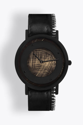 Shop emerging avant-garde accessory brand South Lane Avant Emerge Black Zip - Erebus